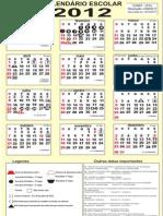 Calendário letivo_2012