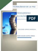 PENSAMIENTO ECONOMICO