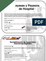 Cartelera de Proyectos servicio comunitario coleguio universitario de caracas2011-II