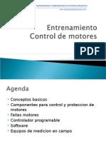 Entrenamiento Control Motores