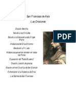 San Francisco de Asís - Las Oraciones