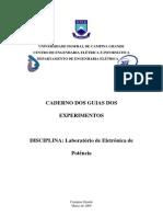 Caderno global dos guias do lab de eletrônica de potência