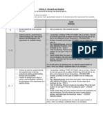 Game Design Criteria A - Research and Analysis - PDF