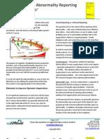 Tool Box Training - Operator Care Abnormality Reporting, 2.0