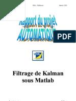 Rapport Kalman