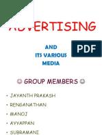 Advertising & Its Various Media