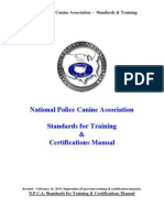 npca standards