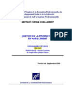 Programme GPH Septembre 2004