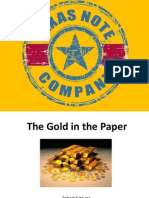 The Gold in the Paper Presentation
