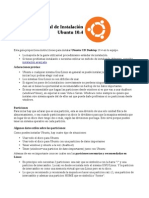 Manual Ubuntu10 4