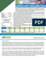 Sanghvi Movers Ltd - Portfolio Track Stock Review - June 11