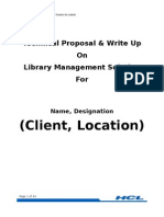 Proposal for LMS Librarian)