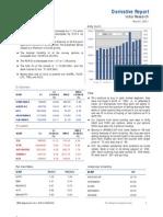 Derivatives Report 1st November 2011