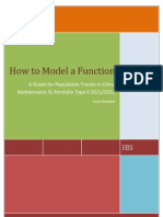 How to Model a Function