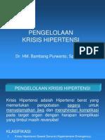 PENGELOLAAN KRISIS HIPERTENSI