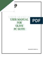 Olive Phone Suite Manual