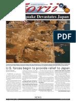 Torii U.S. Army Garrison Japan weekly newspaper, Mar. 17, 2011 edition