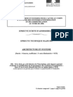 ASIC06 Majeure Architecture Systemes