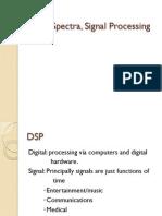 Signal Spectra, Signal Processing