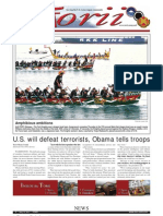 Torii U.S. Army Garrison Japan weekly newspaper, May 12, 2011 edition