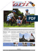 Torii U.S. Army Garrison Japan weekly newspaper, Jun. 9, 2011 edition