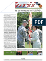 Torii U.S. Army Garrison Japan weekly newspaper, Jun. 30, 2011 edition