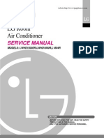 LG ROOM AIR CONDITIONER SERVICE MANUAL – MODELS LWHD 1500ER, LWHD 1800R, L1804R