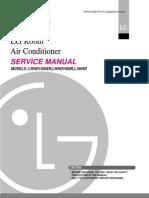 LG ROOM AIR CONDITIONER SERVICE MANUAL – MODELS LWHD 1500ER, LWHD 1800R, L1804R