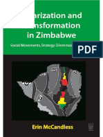 POLARIZATION AND TRANSFORMATION IN ZIMBABWE Social Movements, Strategy Dilemmas and Change