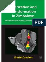 POLARIZATION AND TRANSFORMATION IN ZIMBABWE Social Movements, Strategy Dilemmas and Change