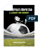 South Africa's World - Cup A Legacy for Whom?