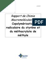 RapportCopolymérisation