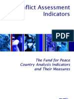 Indicators Essay - The Fund for Peace