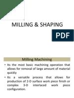 Milling Types