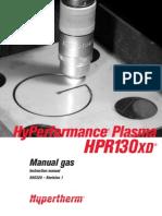 Manual Plasma HPR130