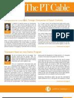 Autumn 2011 PT Law Newsletter