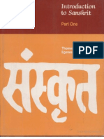 44114261 Introduction to Sanskrit