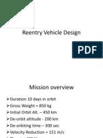 Reentry Vehicle Design