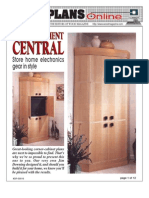 Woodworking Plans - Entertainment Center