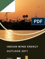 Indian Wind Energy Outlook 2011
