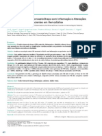 Associação do índice tornozelo-braço com inflamação e alterações minerais ósseas em pacientes em hemodiálise 2011
