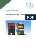 G450 Manual