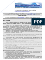 Boletin Nº 12 de la Comision de Exiliados Argentinos en Madrid