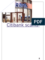 CitiBank Scams