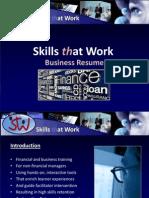 Skills at Work Presentation