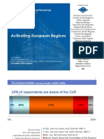 Activating European Regions - Committee of the Regions