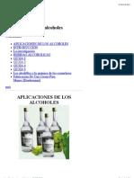 Alcoholes-bioetanol