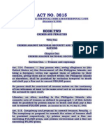 RHeadel- Criminal Law II