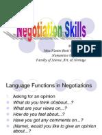 Chap 2 Negotiation Skills