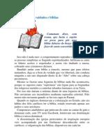 A fogueira de vaidades e bíblias